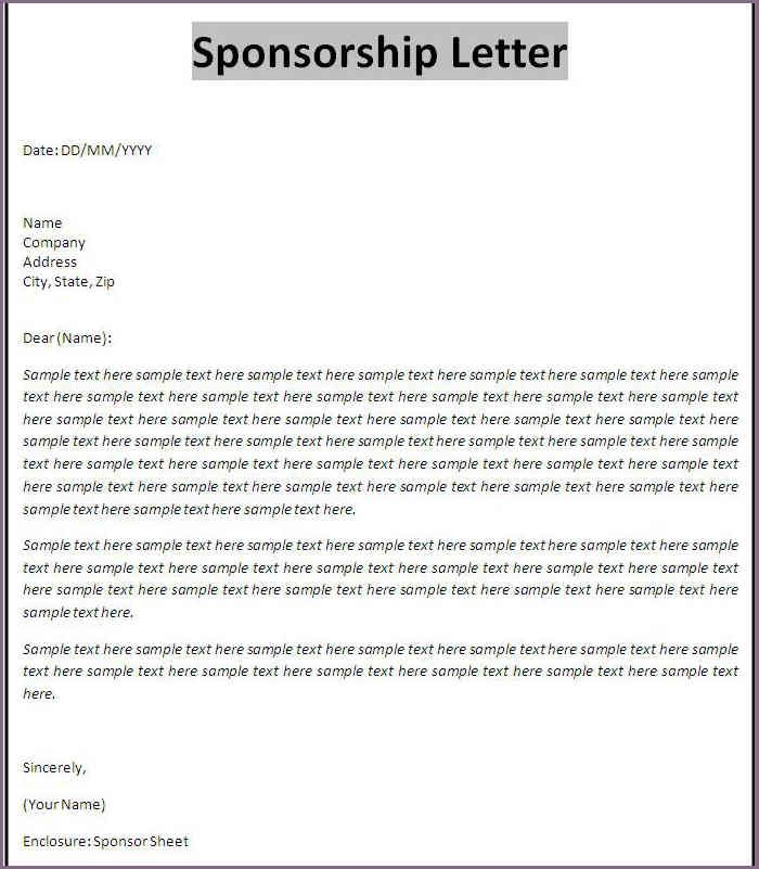 25+ beste ideeën over Proposal letter op Pinterest - Adobe indesign - example of a sponsorship proposal