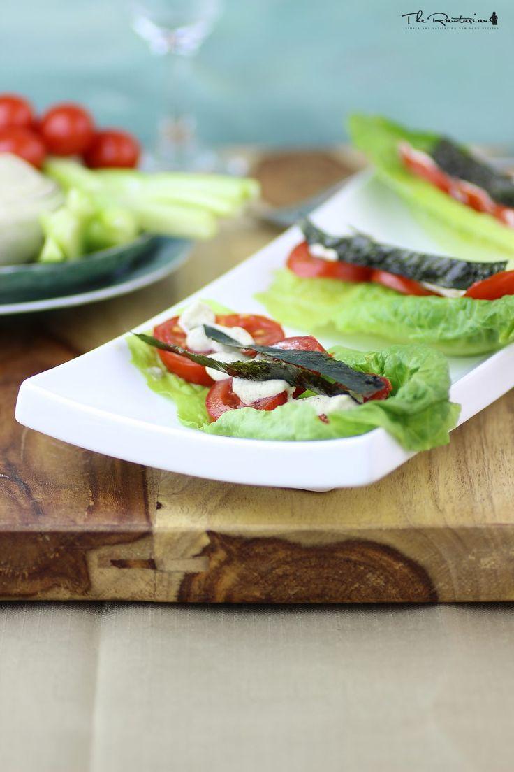Raw bacon lettuce tomato sandwich | The Rawtarian