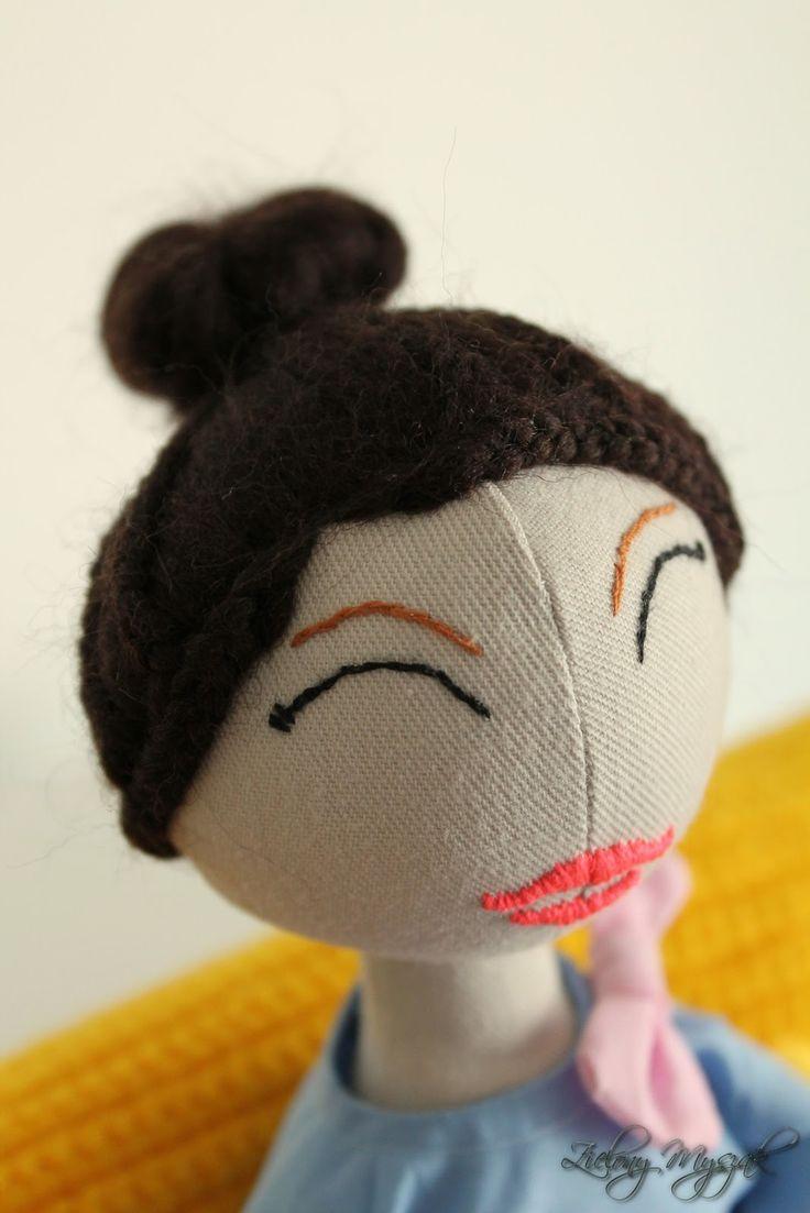 Zielony Myszak: 56. Julia #doll #handmadedoll #handmade #dolls #polska