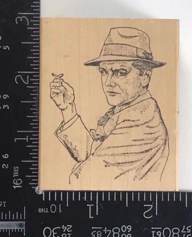 Rubber Stamp Dick Tracy Viva Las Vega Comic Cartoon Police Detective Rare T288 #VivaLasVegasStamps