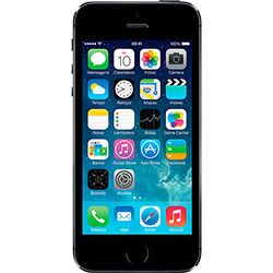 USADO: iPhone 5S 32GB Cinza Espacial iOS 7 4G Câmera 8MP - Apple