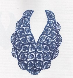 pineapple shawl fully diagrammed- free crochet pattern -