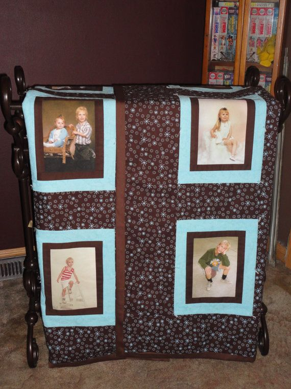 34 best images about photo quilt on Pinterest Wedding quilts, Quilt and Diy photo