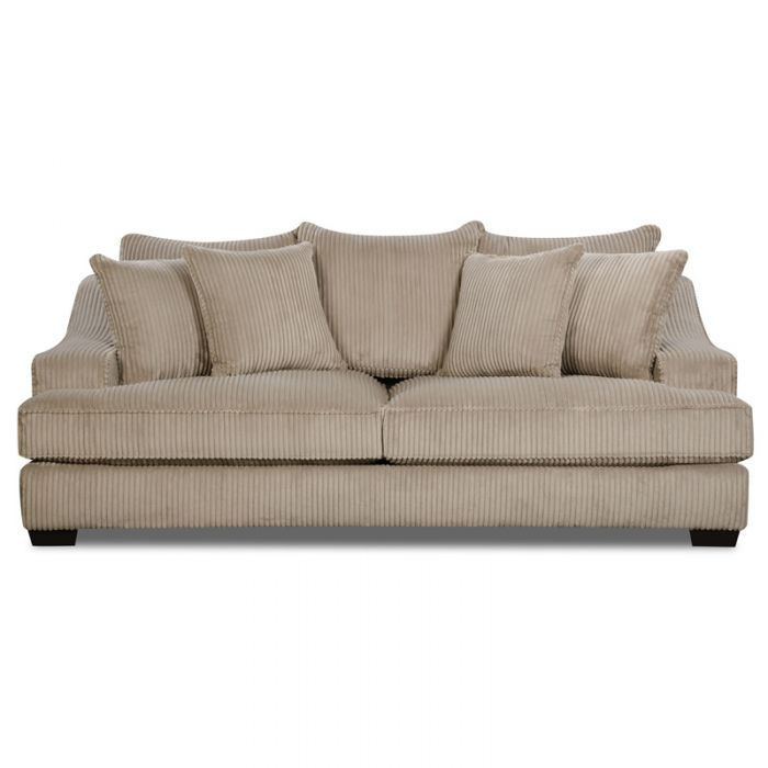 Alexa Beige Corduroy Sofa Weekends Only Furniture And Mattress Couch Old Sofa Sofa