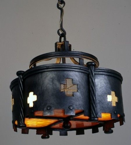 gothic_ceiling_light & 291 best Lighting images on Pinterest   Wrought iron Color ... azcodes.com