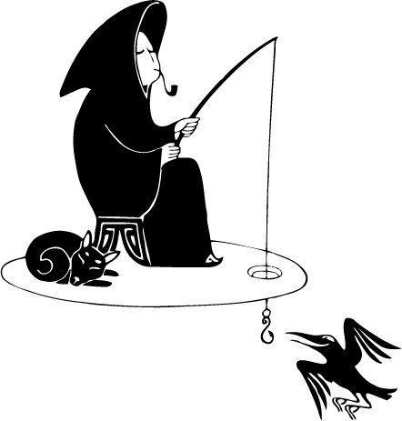 Людмила Милько. Иллюстрации к книгам Макса Фрая  http://www.inspireme.ru/post/73430
