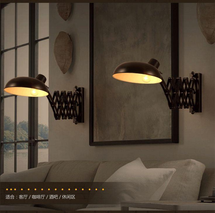 Alibaba グループ | AliExpress.comの 壁ランプ からの 製品- 4101xlmodel-製品- 4101xlmodel-あなたが好きなを推測する。。。近代的なペンダントランプロープノベルティバスケットcandelabro110-240ve27led電球ペンダントライト現代的なカフェバーのダイニン 中の ロフトヴィンテージ伸縮壁取り付け用燭台e27 * 1浴室格納式ミラー ライト黒鉄ウォール ランプ コーヒー ショップ枕元ランプ abajur