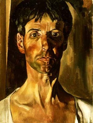 Stanley Spencer, self portrait