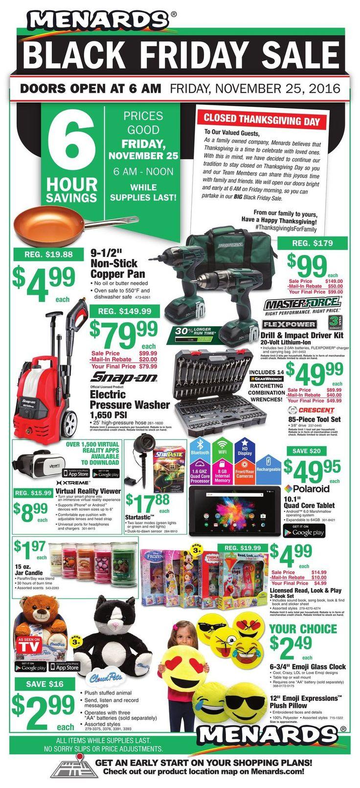 Menards Black Friday Ad - http://www.hblackfridaydeals.com/menards-black-friday-deals-sales-ads/