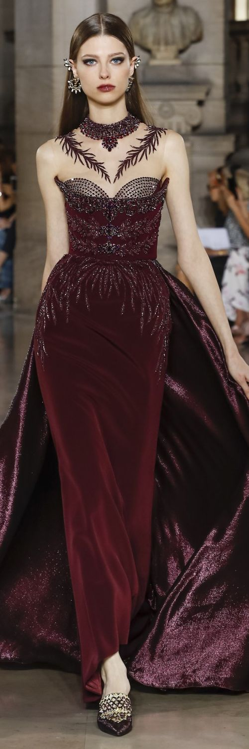 Georges Hobeika Fall Winter 2017 Haute Couture Collection @GorgeousFashion
