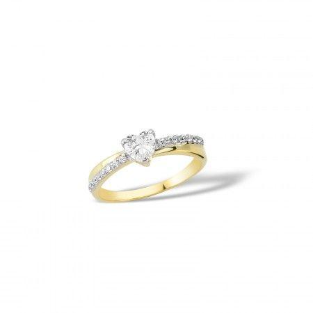 Inel de logodna LGRA1342 - Cristale - Inele de logodnă