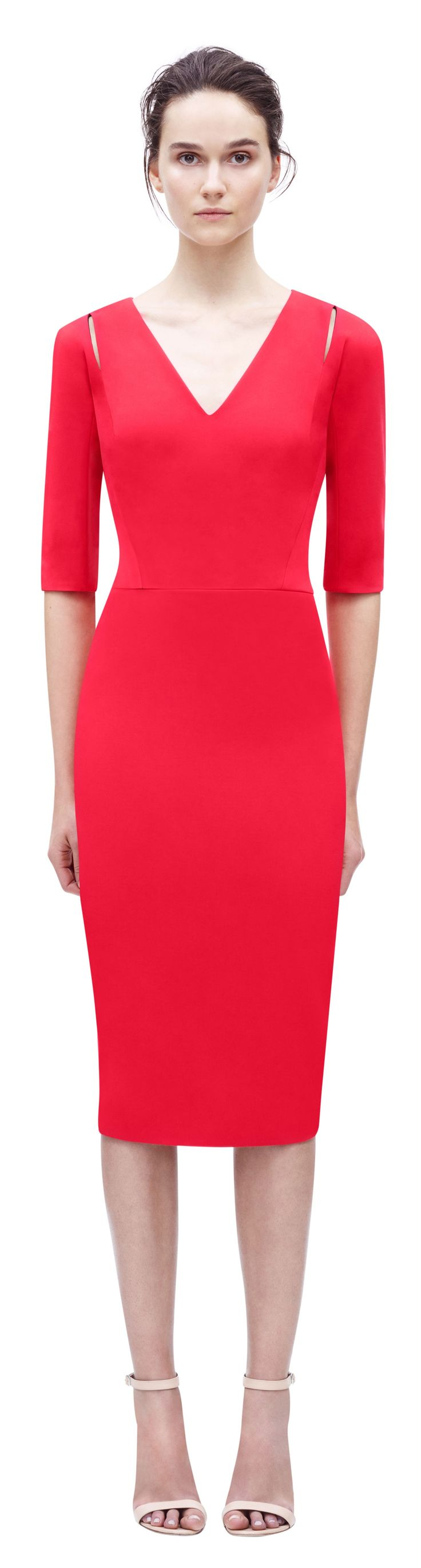 Victoria Beckham RTW 2016 spring summer women fashion outfit clothing style apparel @roressclothes closet ideas