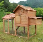 Brand New Deluxe Large Chicken Poultry Coop Hen house Hutch Cage 0311L - http://pets.goshoppins.com/backyard-poultry-supplies/brand-new-deluxe-large-chicken-poultry-coop-hen-house-hutch-cage-0311l-8/