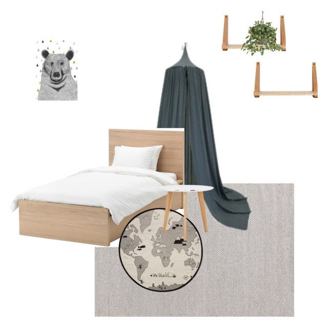 """""""Jax bedroom"""" by wood-leanne on Polyvore featuring interior, interiors, interior design, home, home decor, interior decorating, Dash & Albert, Holly's House, Nearly Natural and bedroom"""