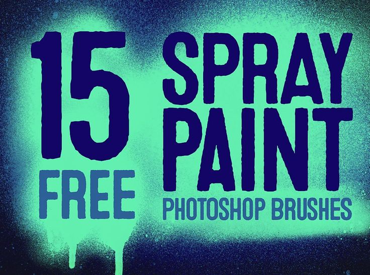 20 Free Spray Paint Photoshop Brushes with Splatters & Drips http://blog.spoongraphics.co.uk/freebies/20-free-spray-paint-photoshop-brushes-with-splatters-drips