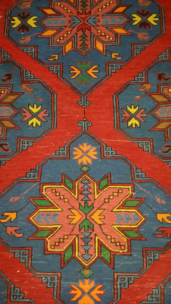 Check out this item in my Etsy shop https://www.etsy.com/listing/211963163/vintage-antique-caucasian-kilims-rugs