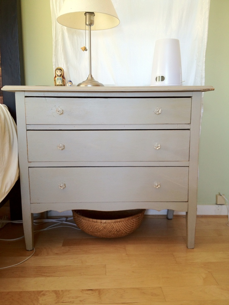 Great Pasadena Rose Bowl Swap Meet find! Very chic old chest of drawers...