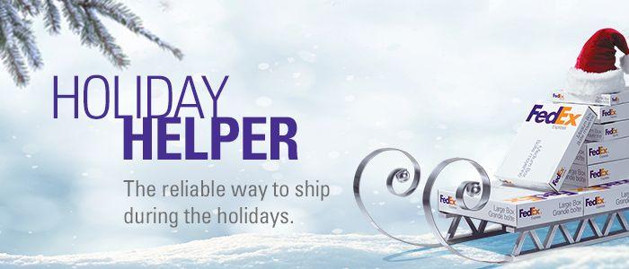Fedex Holiday Schedule