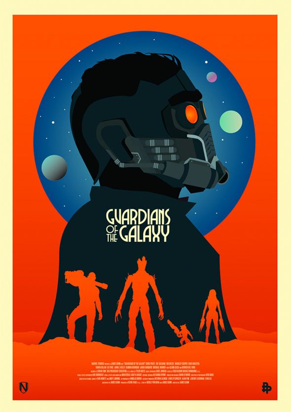 Guardioes da Galaxia fan art 3