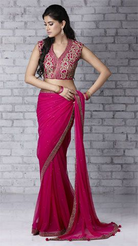 Beautiful Saree & Blouse