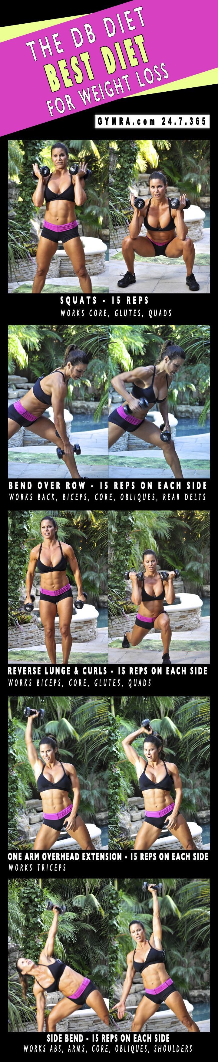 Ejercicios - fitness - Total-Body Workout with dumbbells.