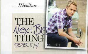Derek's feature IN! Magazine