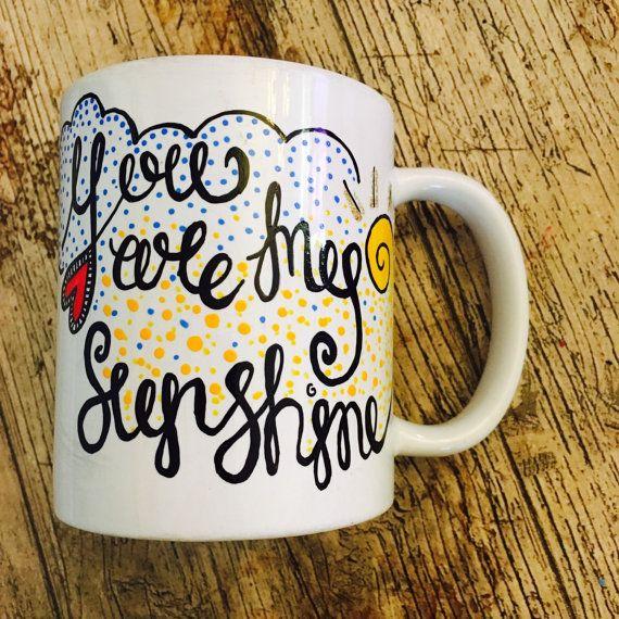 #dorseteam You are my sunshine mug by LoveMugUK on Etsy