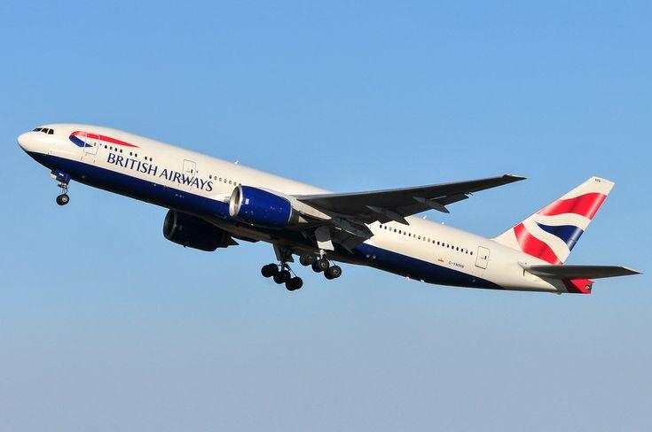 British Airways B777-200ER G-YMMN