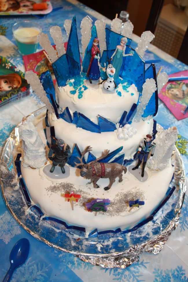 Homemade Frozen Cake with directions!