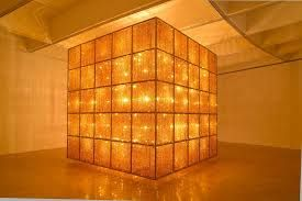 Ai Weiwei, Cube Light, 2008 chandelier series brings together chinese and western components