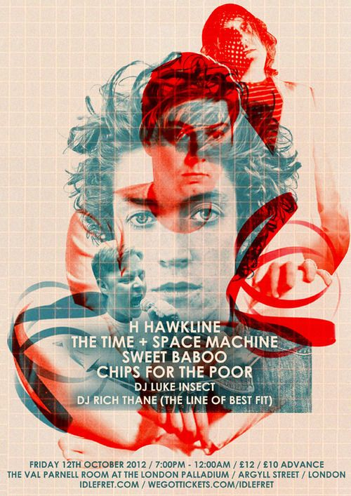 H Hawkline, The Time + Space Machine, Sweet Baboo, Chips For The Poor