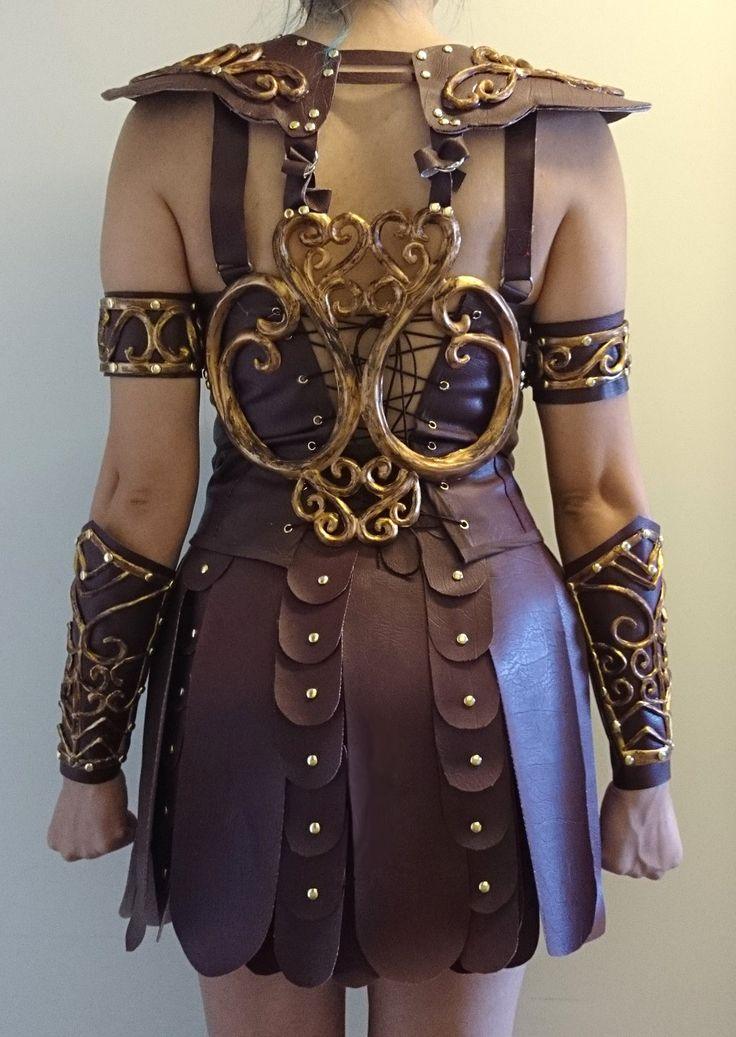 Xena costume 95% done back by LeHinT on DeviantArt
