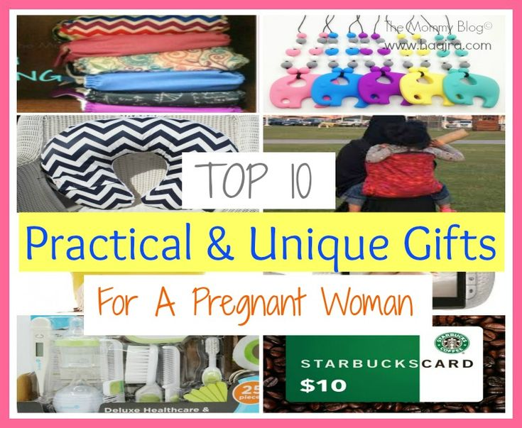 Top 10 Practical & Unique Gifts For A Pregnant Woman ...