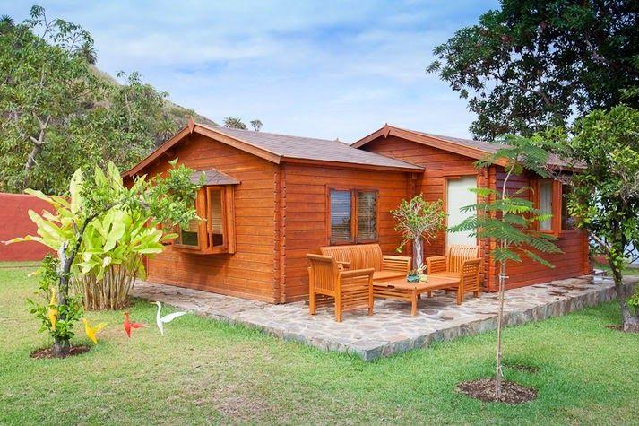 Planos casas de madera prefabricadas casas madera en - Casas de madera bonitas ...