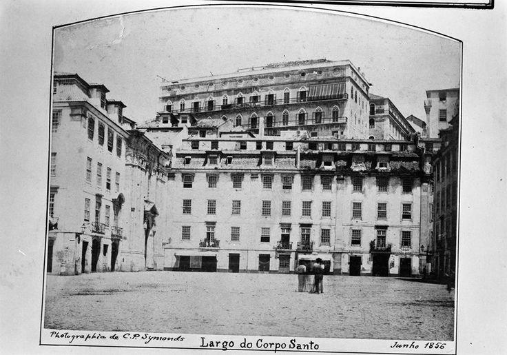 Largo do Corpo Santo, 1856