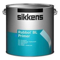 Sikkens Rubbol BL Primer, een watergedragen dekkende grondverf. Voor binnen en buiten, heeft een perfecte hechting op onbehandeld hout en bestaande verflagen.