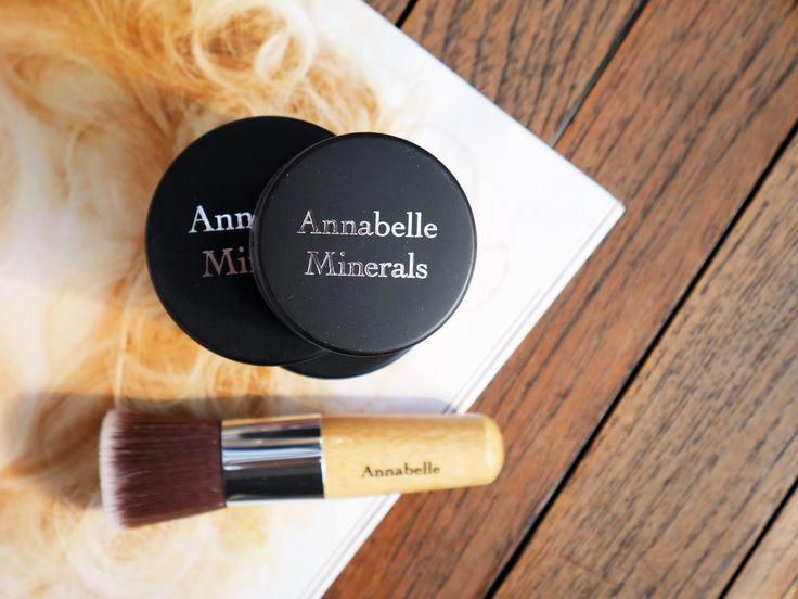 My strawberry fields: Annabelle Minerals: podkład, róż i cień