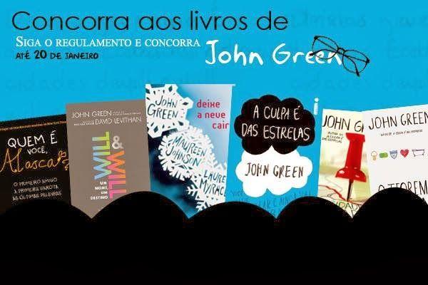 [Promoção] Concorra aos livros do John Green | .:Este Já Li:. Nossa Cultura, Nosso Mundo!