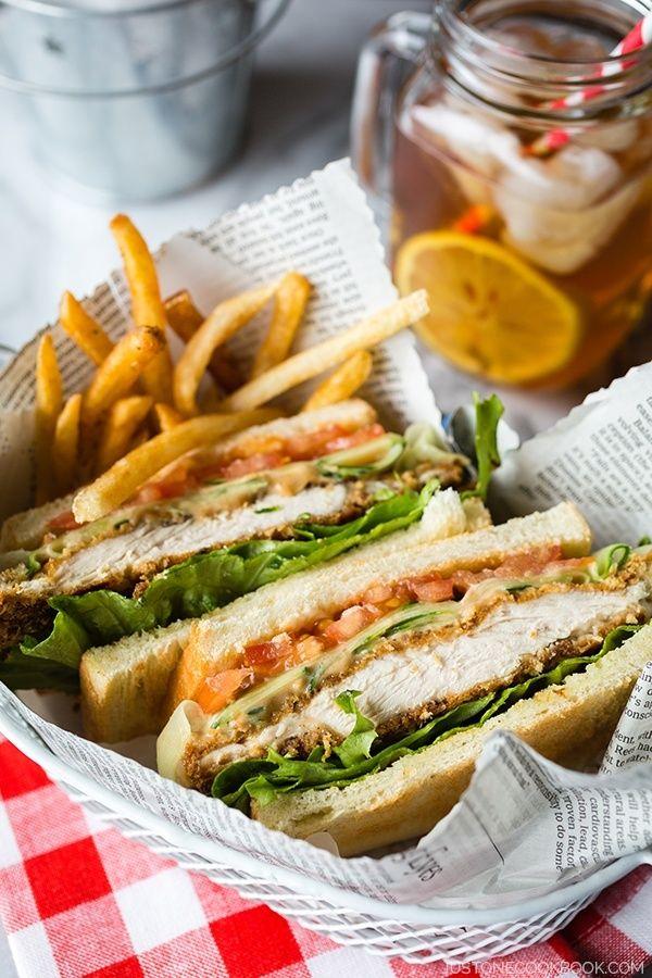 Baked Chicken Katsu Sandwich | Easy Japanese Recipes at JustOneCookbook.com