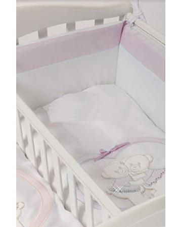 Feretti Baby Beddings Culla Gemelli Doppio Nidi Enchant розовый  — 5070р.  Набор Baby Beddings Culla Gemelli Doppio Nidi Enchant розовый Feretti состоит из одеяла и бортика. Комплект идеально подходит к люльке для близнецов от Feretti.