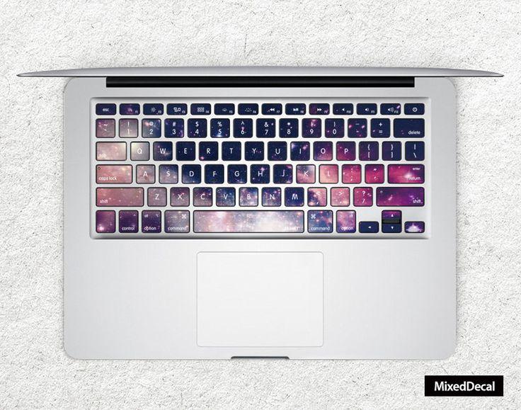 Sticker pour clavier : galaxie n°1