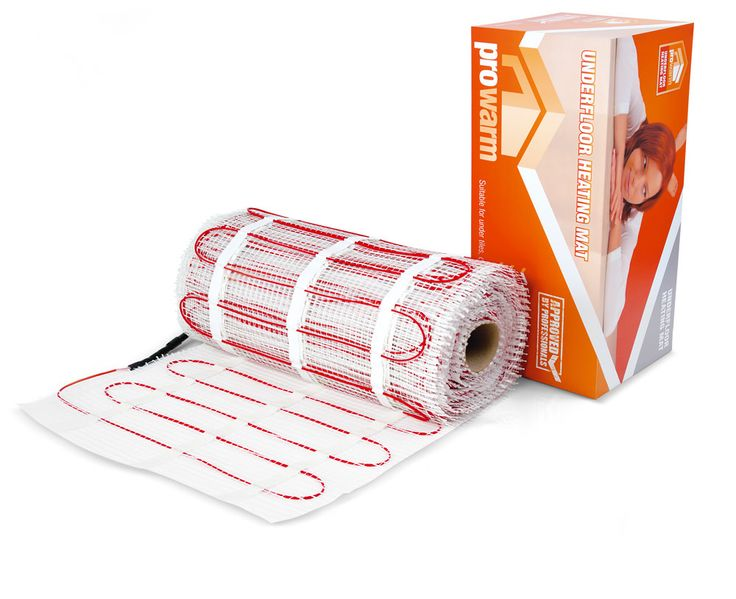 ProWarm™ Electric underfloor heating 200w mat kit - ProWarm™ - Electric Underfloor Heating