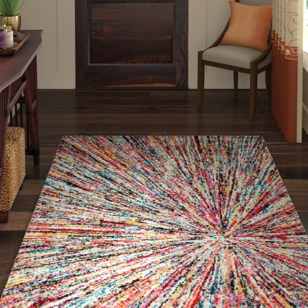 Lucy Abstract Red Blue Gray Area Rug Blue Gray Area Rug Area Rugs Grey Area Rug