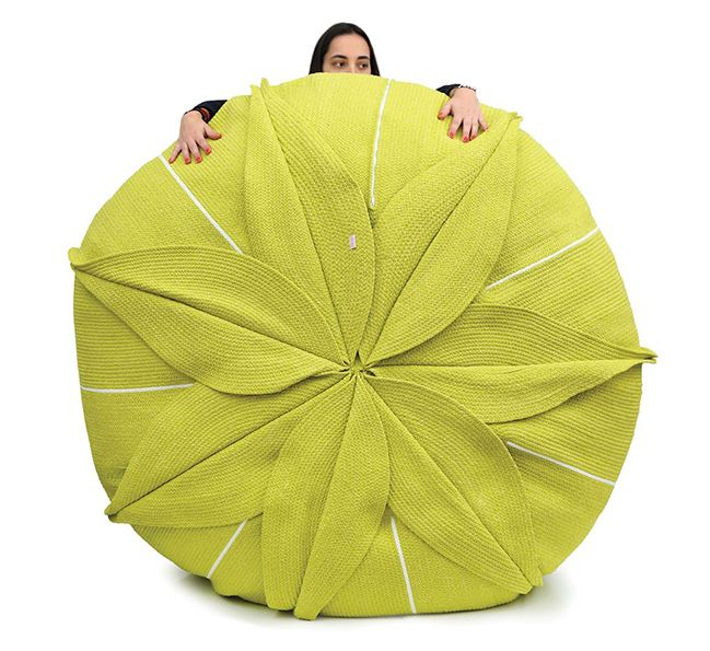 Darono | IN | OUT | Eucharis Puff XXL The Eucharis Pouf is inspired by the flowers found in Amazonia, the wild and singular forest in Brasil. #darono #furniture #design #decor #designfurniture #ecofriendly #portugal #handmade #creativefurniture #moderndecor #outdoor #outdoorfurniture #outdoordesign #outdoordecor #interiors #outdoors #architecture #seating #relax #seat #interiordesign #interiordecor #puff