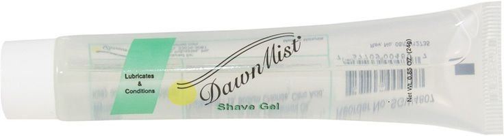 Clear Shave Gel, 0.85 oz. Clear Tube - CASE - 576 Units