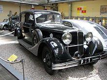 Tatra 80, the most precious Czech car of first Czechoslovak president Tomas Garrigue Masaryk