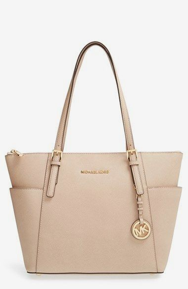 Michael Kors Jet Set Leather Tote Available At Nordstrom Fall 2018 Handbags