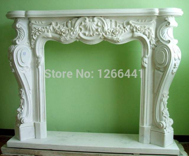 Online Shop marble fireplace mantel classic Europe…
