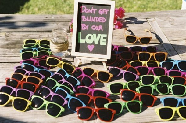 Ideas for a sunny day #outdoorwedding #weddinginspiration #weddingfavors