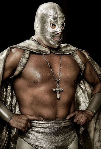 El Santo. Took my Son to see him in London. We had great fun, very entertaining.